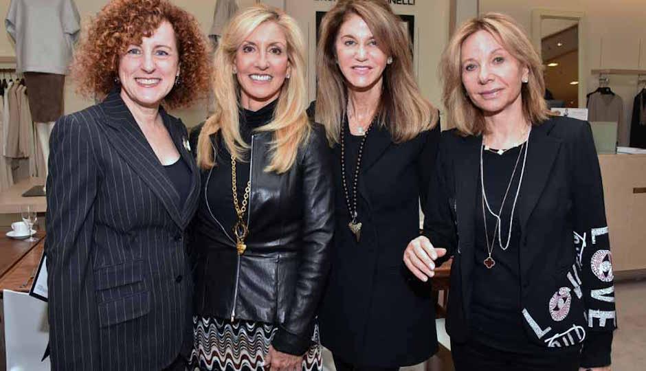 Margie Honickman, Joanne Wurzak, Ellen Churchill and Liesa Steinberg
