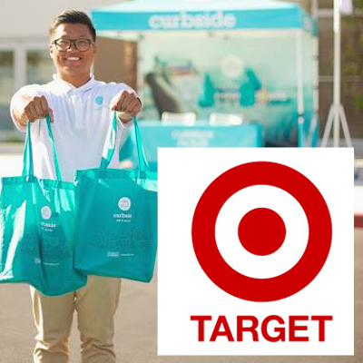 Get ready for curbside service at Target stores.