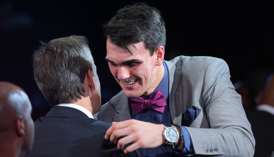 Dario Saric, selected 12th overall in the 2014 NBA draft, insists that he will join the Sixers next summer   Brad Penner-USA TODAY Sports