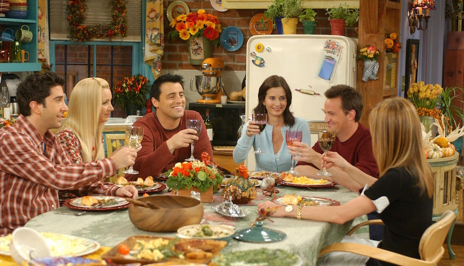"The first ""Friendsgiving?"""
