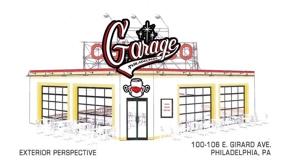 Hastily created rendering of Garage - North using Calexico rendering.