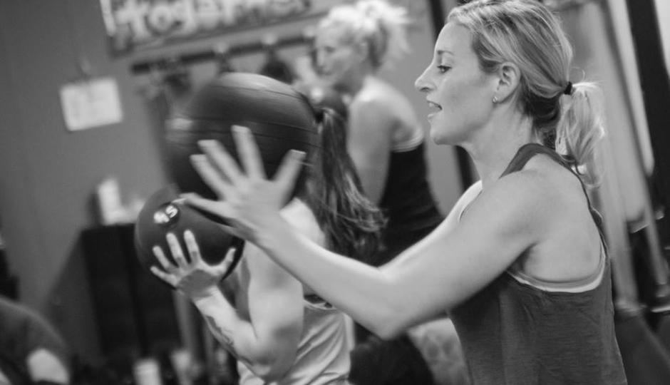 A workout at GFit Women   Photo via Facebook