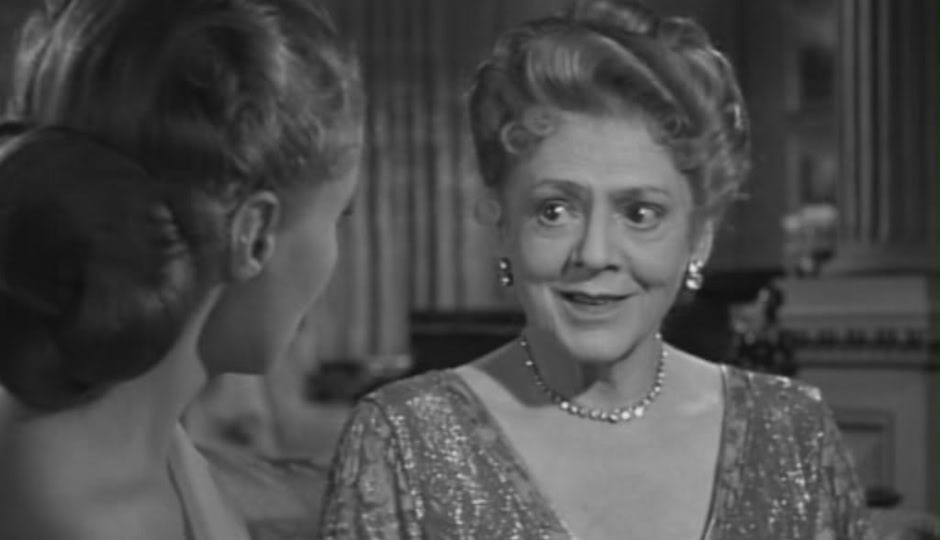 Ethel Barrymore with Ann Todd in Hitchcock's 'The Paradise Case.'