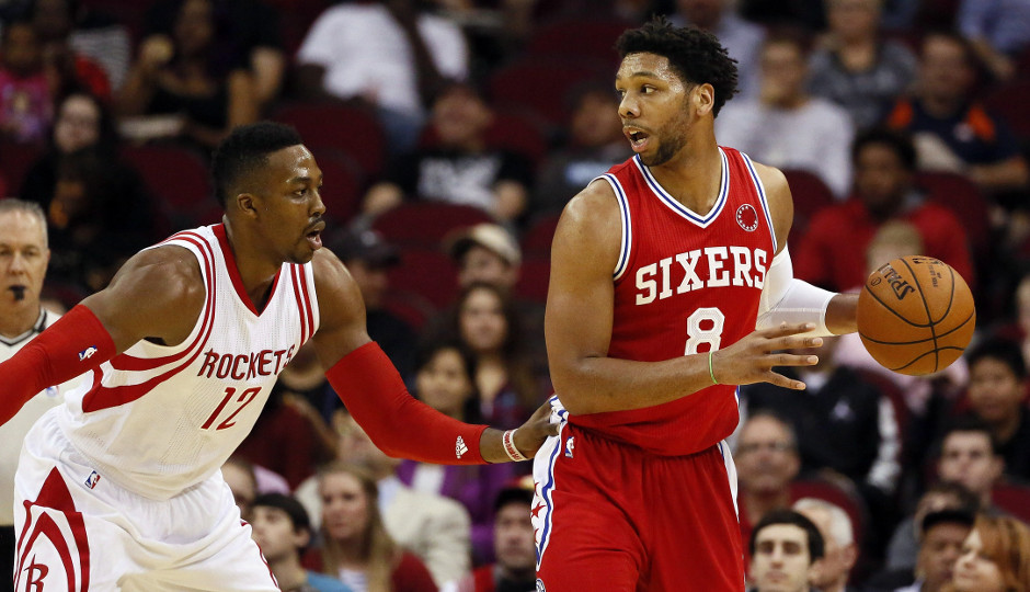 Dwight Howard's ability to defend Jahlil Okafor one on one hurt the Sixers offense | Soobum Im-USA TODAY Sports