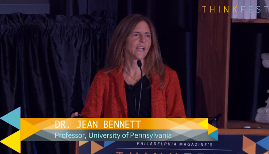 Dr. Jean Bennett at ThinkFest.
