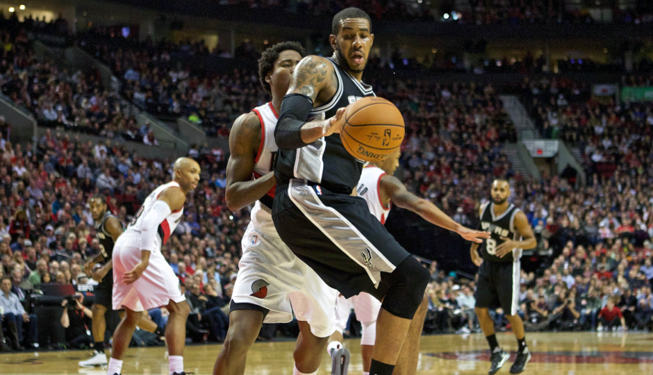 LaMarcus Aldridge scored 17 points and collected 17 rebounds in the Spurs 92-83 win over the Sixers | Craig Mitchelldyer-USA TODAY Sports