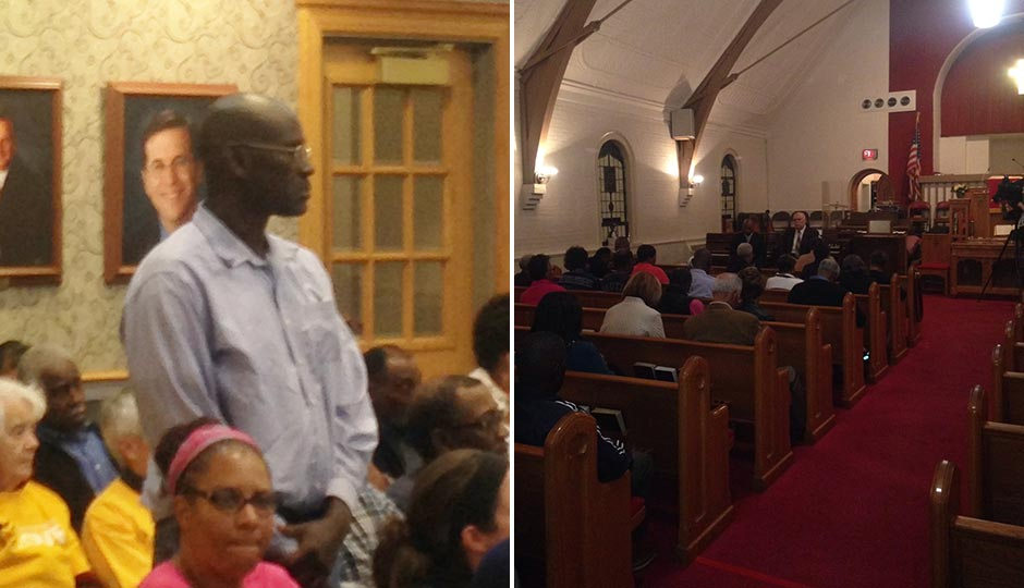 Nathaniel Williams (left); Zion Baptist Church (right). Photos | Sandy Smith