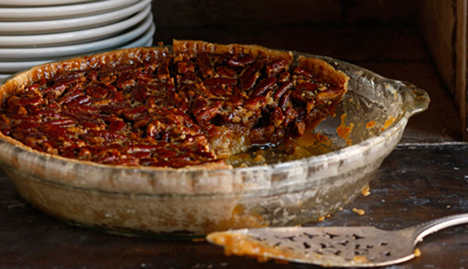 Pecan pie at Percy Street