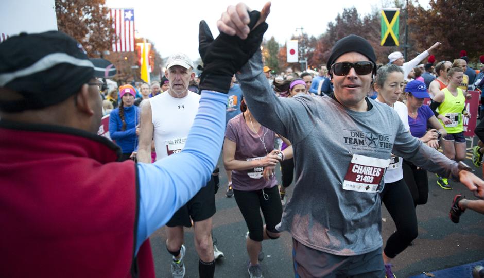 Photo courtesy GORE-TEX Philadelphia Marathon