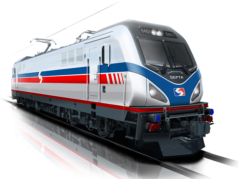 New SEPTA locomotives