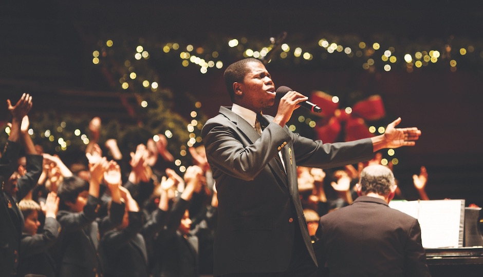 SOULFUL CHRISTMAS: Choirs from all over the region get togehter fo ra little gospel celebration at the Kimmel on December 15th.