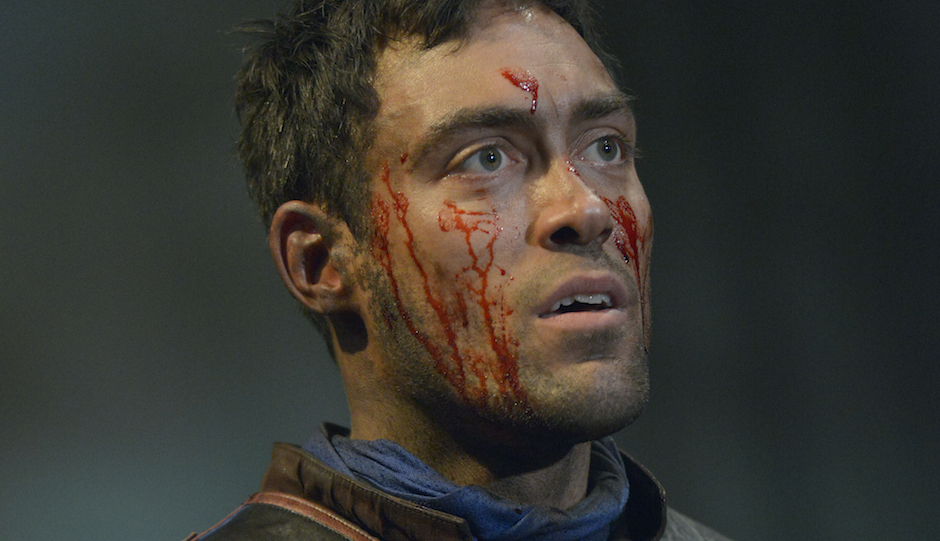 The protagonist in Royal Shakespeare Company's production of Henry V, showing this weekend at Ritz 5.