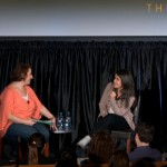 Jennifer Weiner and Abbi Jacobson at ThinkFest 2015.