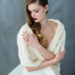 How pretty is this ivory stole from Carol Hannah?