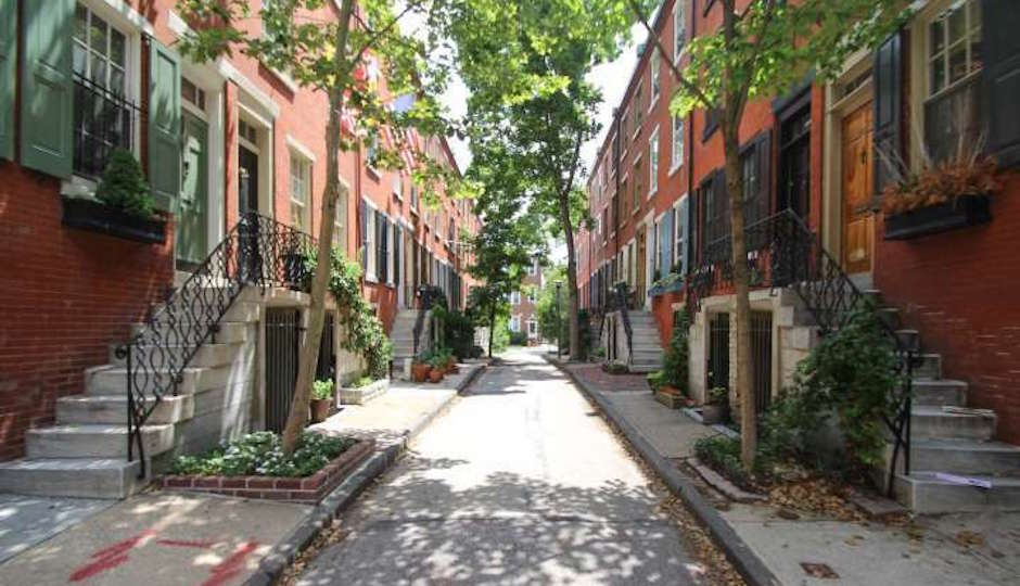 The 1900 block of Waverly Street | TREND Images via BHHS Fox & Roach
