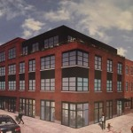 The new-look project at 9th and Wharton. Neighbors still aren't too jazzed about what it might do to parking. | via Passyunk Post