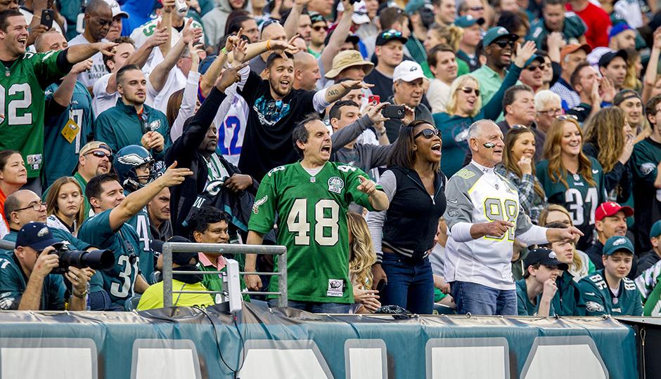 Eagles fans. (Jeff Fusco)