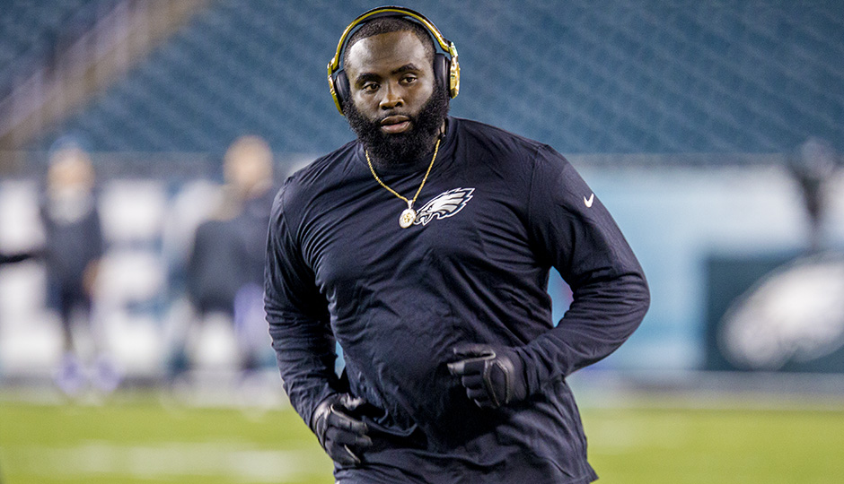 Bennie Logan. (Jeff Fusco)