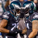 DeMarco Murray and Ryan Mathews. (Jeff Fusco)