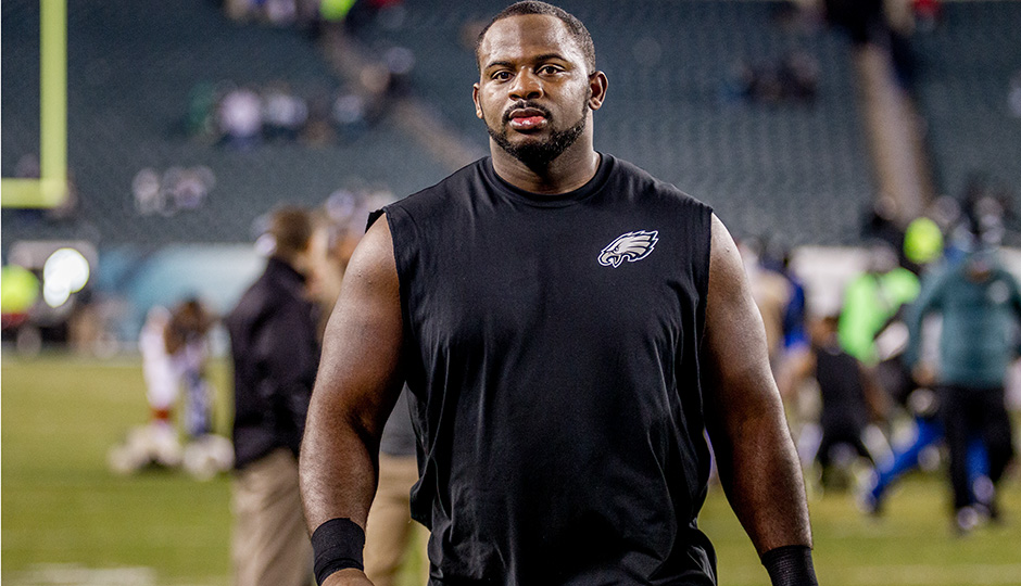 Fletcher Cox. (Jeff Fusco)