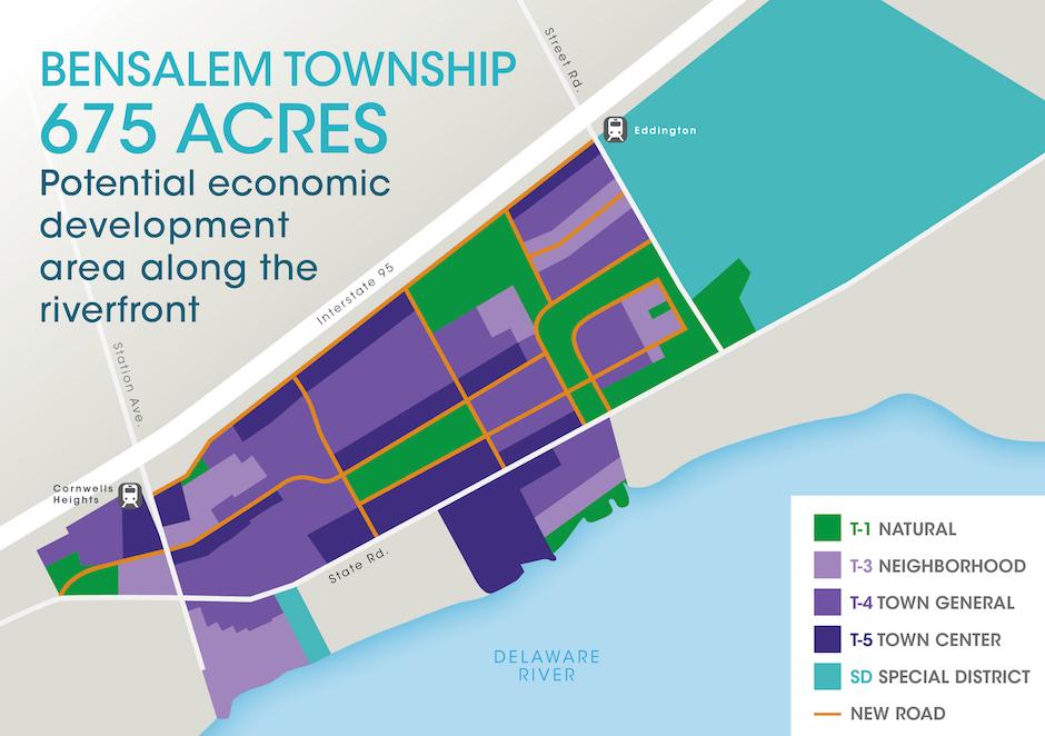 Here's the long term vision for Bensalem's Riverfront Renaissance