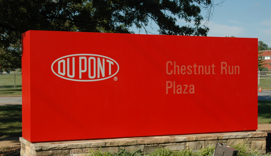 """DuPont Chestnut Run Plaza entrance"" by Littleinfo - Own work. Licensed under Public Domain via Wikimedia Commons - https://commons.wikimedia.org/wiki/File:DuPont_Chestnut_Run_Plaza_entrance.JPG#/media/File:DuPont_Chestnut_Run_Plaza_entrance.JPG"