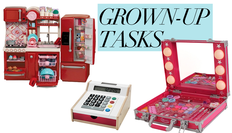 GROWN-UP TASKS