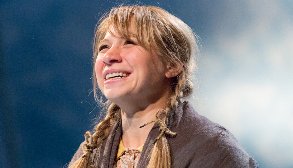 Lauren Hirte as Gretel.