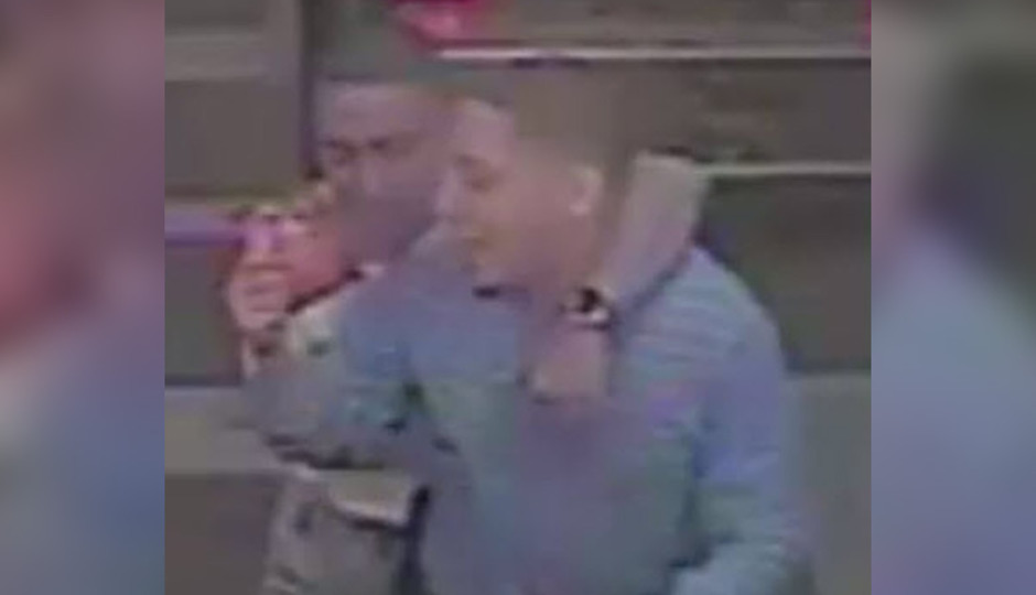 """The Philadelphia Police Department Homicide Unit is looking to identify the two individuals depicted in this video as part of an ongoing investigation into a murder that occurred on Sunday October 11th, 2015 at approximately 2:55 am, outside of the Tierra Columbiana Night Club located on the 4500 block of North 5th Street."""
