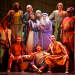 "The cast of ""Joseph…"" brings their magical coat of many colors to the Merriam Theatre this week."