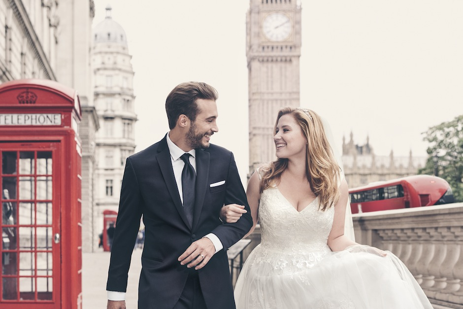 How pretty is this shot with Big Ben in the background? Photography by David Burton.