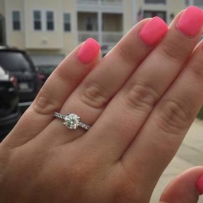 Kristen's ring!