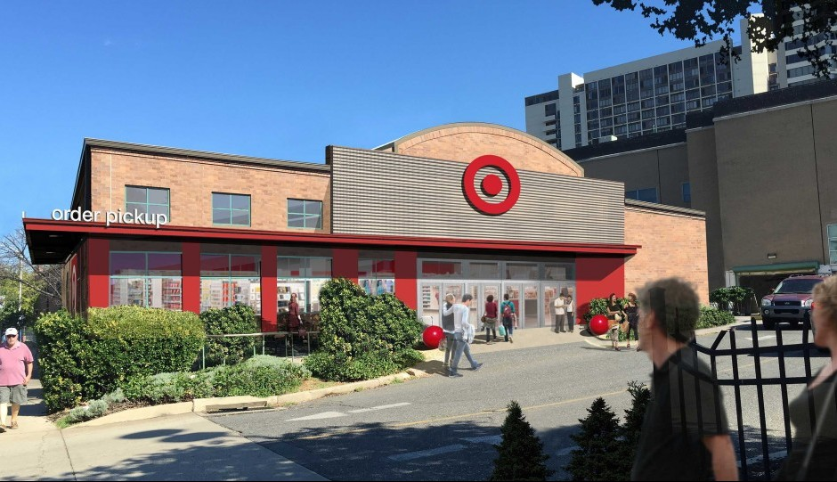 Rendering for the Target at 2100 Pennsylvania Avenue | via Target Corp.