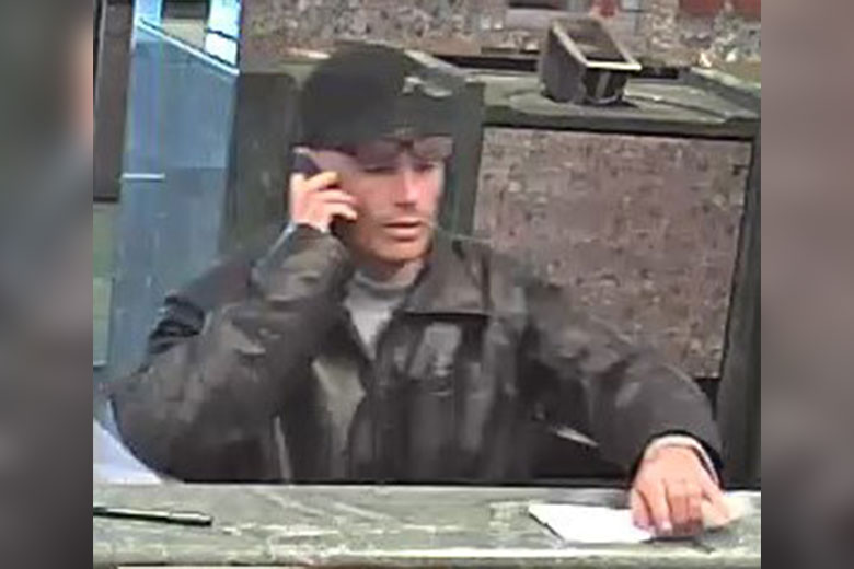 Alleged bank robber - TD Bank - 2520 Grant Avenue - Northeast Philly