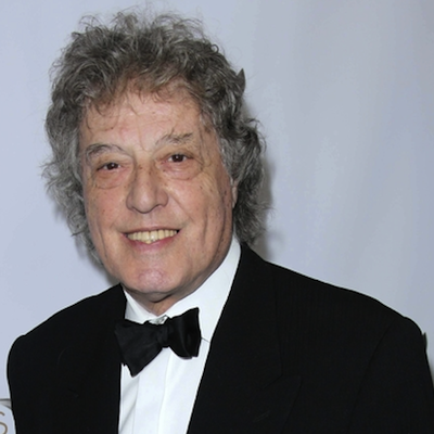 Tom Stoppard appears live this Monday at the Wilma. | s_bukley / Shutterstock.com