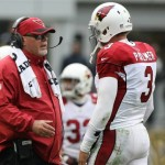 Bruce Arians and Carson Palmer. (USA Today Sports)