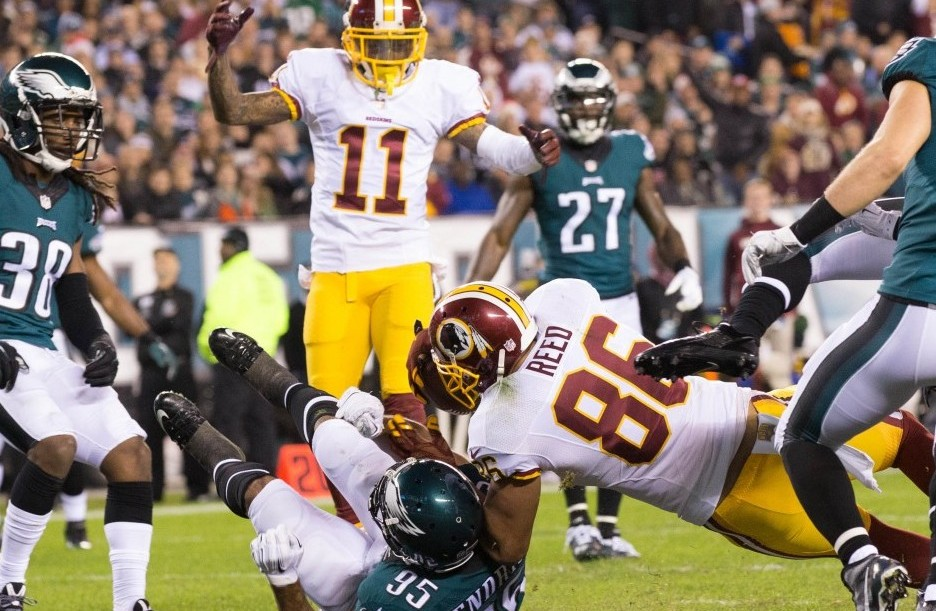 Cousins leads Redskins over Eagles 27-22