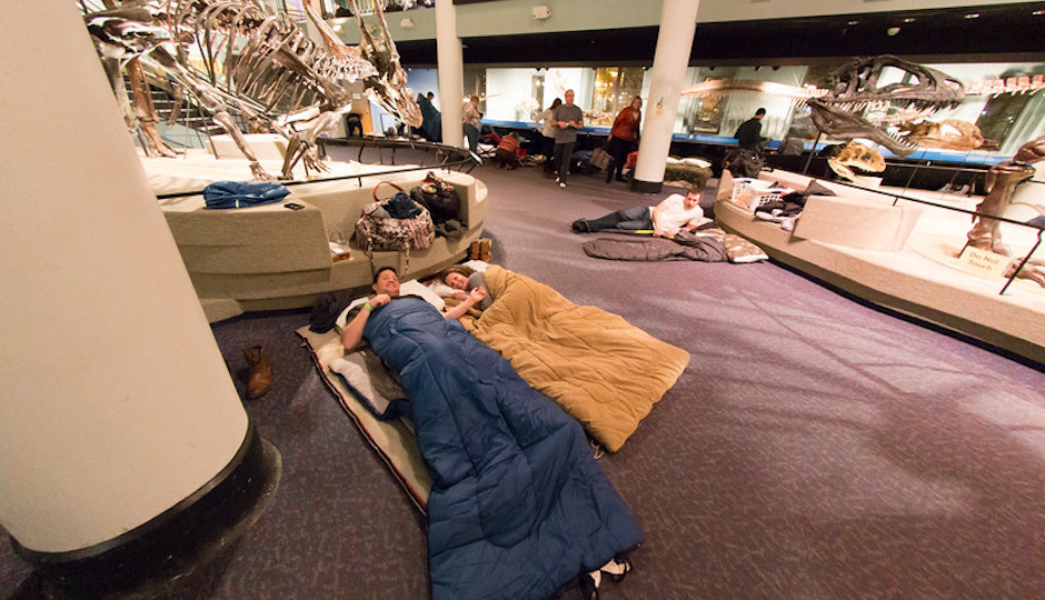 Philly Museums Offering Sleepover Nights in 2016 For Kids and
