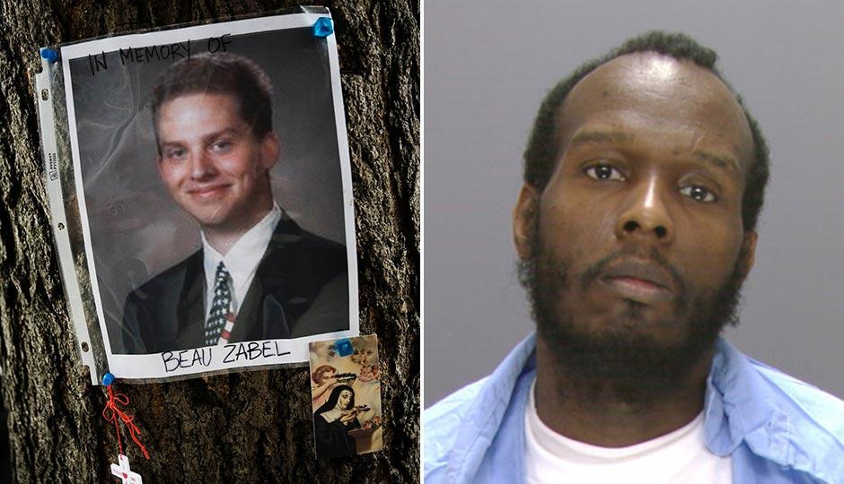 Left: Part of a memorial for Beau Zabel, in Philadelphia, Tuesday, June 17, 2008. Photo   Justin Maxon, AP. Right: Marcellus Jones