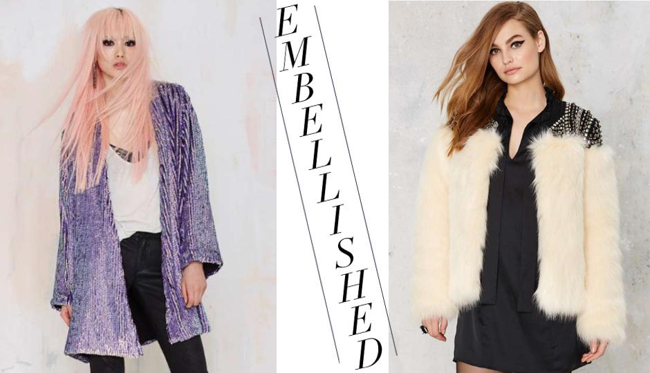 coats embellished