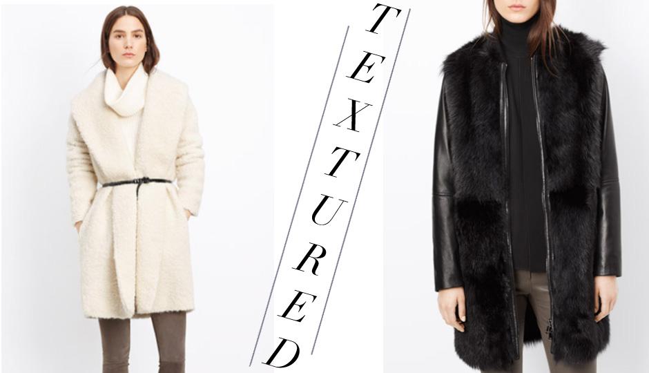 coats textured