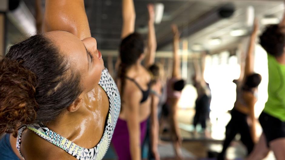 Photo courtesy CorePower Yoga