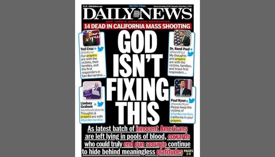 daily news thoughts and prayers