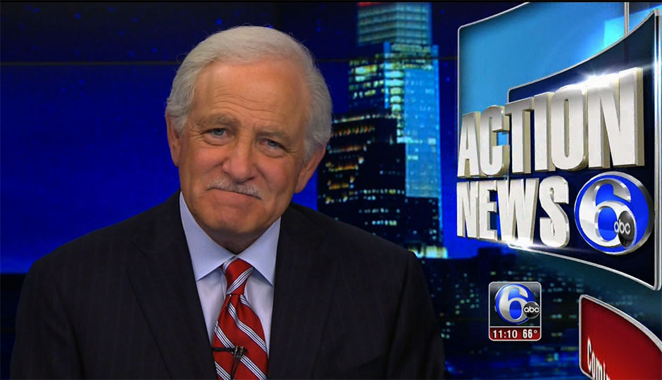 New York City born 68-year old American TV personality Jim Gardner