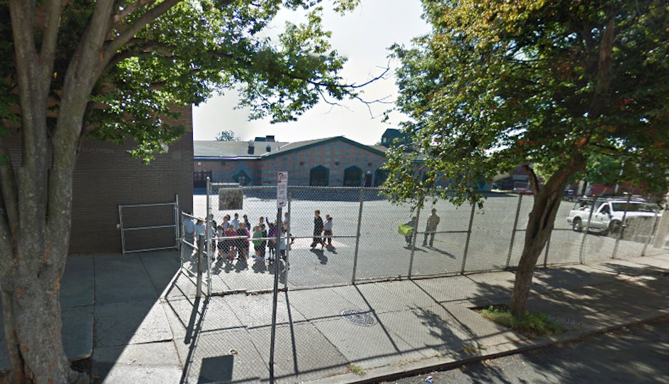 Children line up at the Lewis Elkin Elementary School in Kensington (Photo via Google Maps)