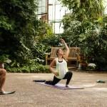Yoga at the Fairmount Park Horticulture Center   Photo by Casey Kallen Photography