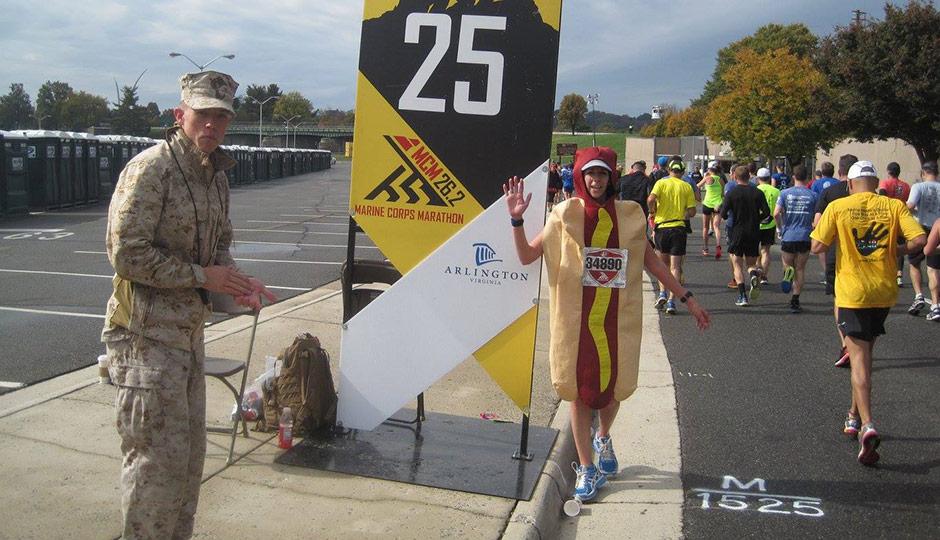 Meghan Kita's hot dog marathon