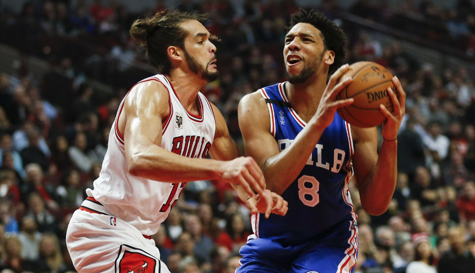 Sixers' center Jahlil Okafor is averaging 22.3 points per game over his last four games | Kamil Krzaczynski-USA TODAY Sports