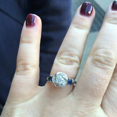 Kelly's ring!