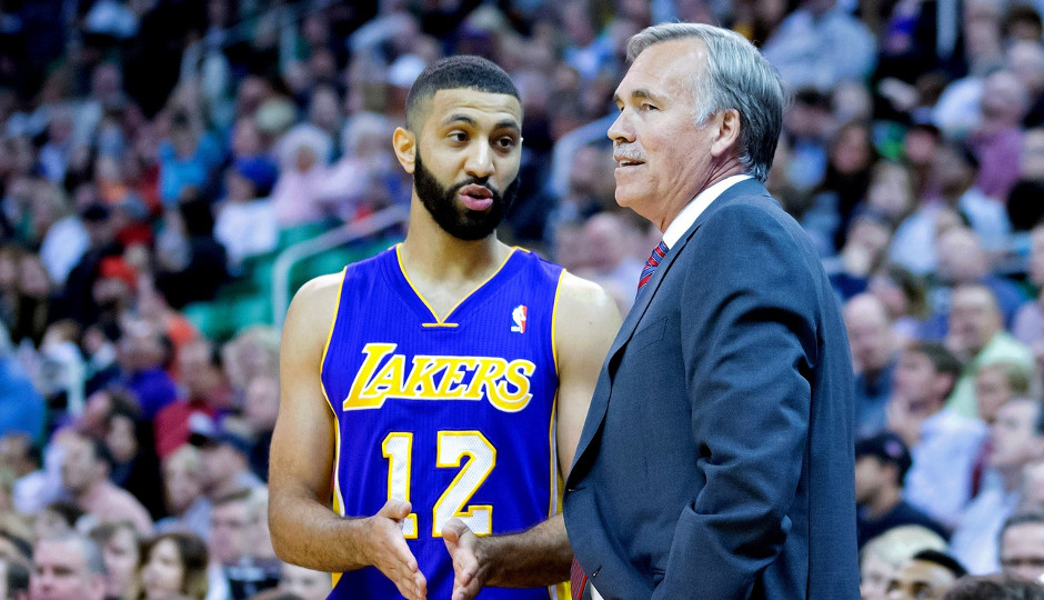 Mike D'Antoni coached Kendall Marshall during his time in Los Angeles | Russ Isabella-USA TODAY Sports